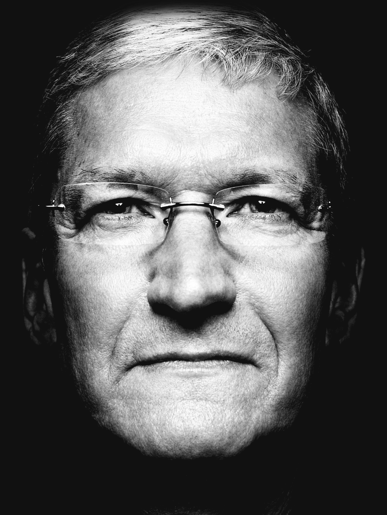 Portrait of Tim Cook